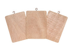 Three wooden planks Royalty Free Stock Image