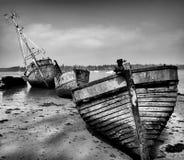 Three Wrecks Stock Photography