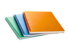 Three writing pads Royalty Free Stock Photo