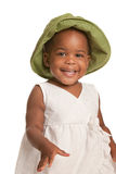 Three Year Old African American Girl Royalty Free Stock Photo
