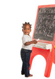 Three Year Old African American Girl Royalty Free Stock Photography