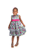 Three Year Old African American Girl Stock Photography