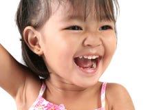 Three Year Old Asian Royalty Free Stock Photo