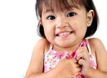 Three Year Old Asian Girl Stock Images