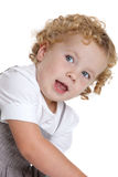 Three year old girl Stock Photography