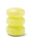 Three Yellow Lozenges Royalty Free Stock Photography