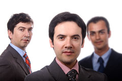 Three young business Stock Photography