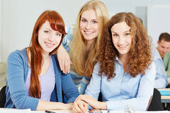 Young happy attractive women Stock Photography