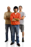 Three young man Royalty Free Stock Photography