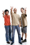 Three young man Royalty Free Stock Photos