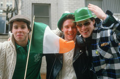 Three young men Stock Photos