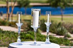 Threee Candles Royalty Free Stock Image