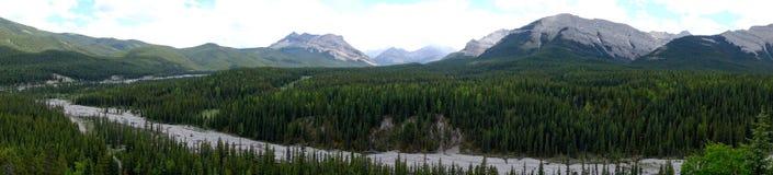 Threepoint berg Fotografering för Bildbyråer