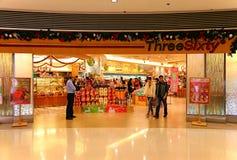 Threesixty food store in hong kong Stock Image