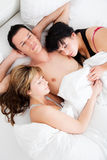 Threesome Stock Photography
