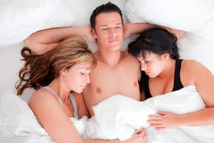 Threesome Stock Photos