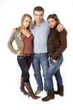 Threesome date Stock Photography