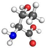 Threonine molecule Stock Photography