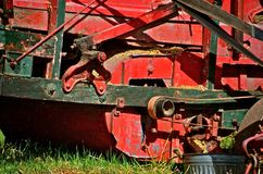 Thresher in Operation Stock Photos