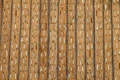 Threshing board Royalty Free Stock Image