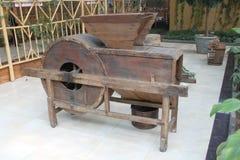 Threshing - máquina Foto de Stock Royalty Free