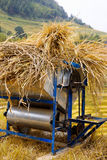 Threshing machine Stock Images