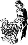 Thrift Shopper Stock Images