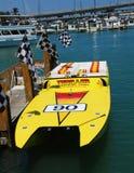 thrill быстроходного катера езд Стоковая Фотография RF