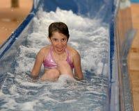 Thrill eines Wasser-Plättchens Stockbild