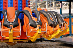 Thrill Ride Seats Stock Images