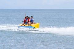 Thrilling beach fun Stock Photos