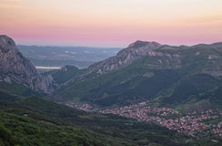 Throat in Balkan mountains Royalty Free Stock Image