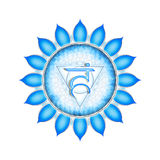 The Throat Chakra Stock Images