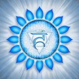 Throat Chakra Symbol Stock Images
