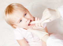 Throat check Royalty Free Stock Images