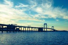 Throgs Neck Bridge Stock Photo