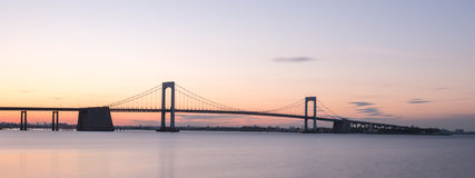 Throgs Neck Bridge - NYC stock photography