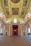 Thron u. Rubens Decke am festlich bewirtenden Haus Lizenzfreie Stockbilder