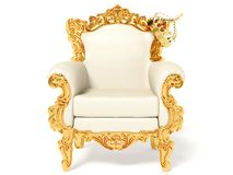 Throne Royalty Free Stock Photos