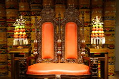 throne Imagem de Stock Royalty Free