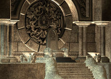 throne ilustração do vetor