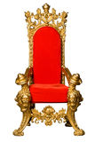 Throne. Royalty's Throne. Ornate. On White