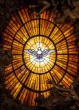 Throne Bernini Holy Spirit Dove Saint Peter`s Basilica Vatican Rome Italy. Bernini Created Saint Royalty Free Stock Image