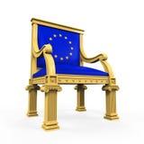 Throne Chair of European Union Stock Photos