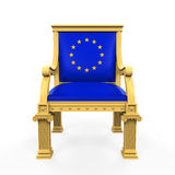Throne Chair of European Union Royalty Free Stock Photo