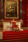 Throne of Emperor Peter the Great Royalty Free Stock Photo