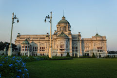 The Throne Hall in Bangkok. The Throne Hall in Bangkok, where the national Stock Photo