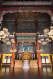Throne Hall at the Changdeokgung Palace in Seoul stock photography