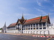 Throne hall in Grand Royal Palace in Bangkok Stock Photo