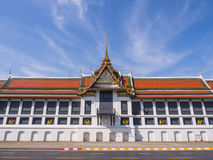 Throne hall in Grand Royal Palace in Bangkok Royalty Free Stock Images